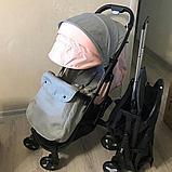 Коляска Mstar (Baby Grace) Серый/розовый, фото 2