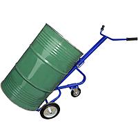Бочковоз. Тележка для перевозки и хранения металлических бочек КБ-1