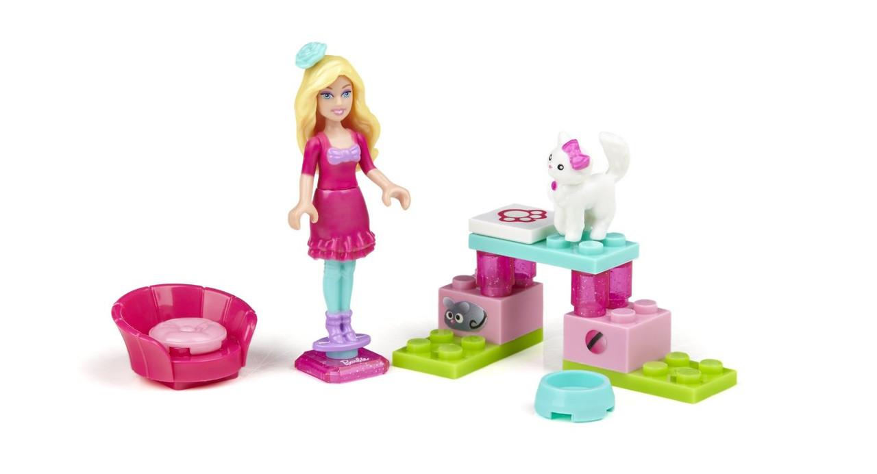 *MegaBloks 80233 Barbie Любительница кошек