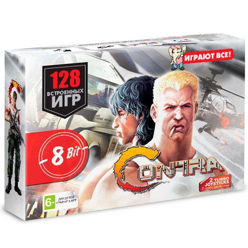 Игровая приставка Dendy Contra 128 игр