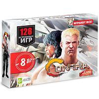 Игровая приставка Dendy Contra 128 игр, фото 1