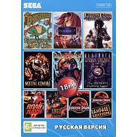Sega картридж 18в1 (BS-18001) (Русская версия)