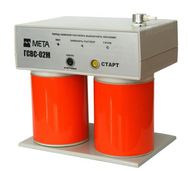 ГСВС-МЕТА-02 - образцовый генератор спиртовоздушных смесей
