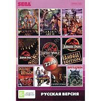 Sega картридж 22в1 (AA-220001) (Русская версия)