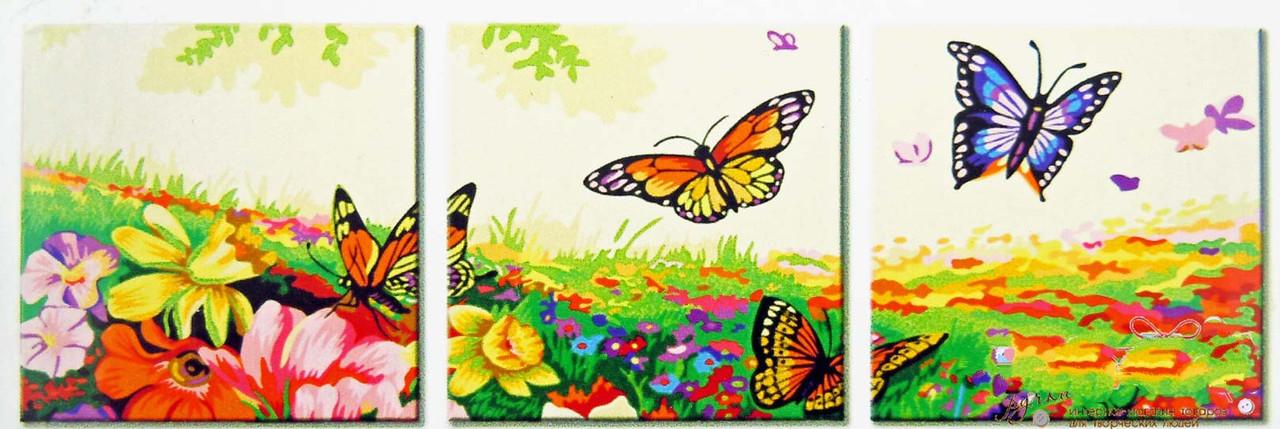 """Картины по номерам """"Танец бабочек"""""""