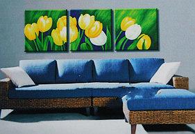 """Картины по номерам """"Желтые тюльпаны"""""""