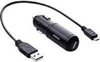 Jabra зарядное устройство в автомобиль, используется с Supreme UC, GO64XX и MOTION UC /MOTION UC+ (14207-09)