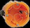 Коробка установочная КМ40022 d65х45мм для полых стен (с саморезами и пластиковыми лапками) IEK