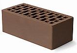 Кирпич Облицовочный одинарный 250*120*65 коричневый, фото 2
