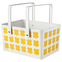 Корзина для пикника СОММАР 2019 металлический ИКЕА, IKEA, фото 1