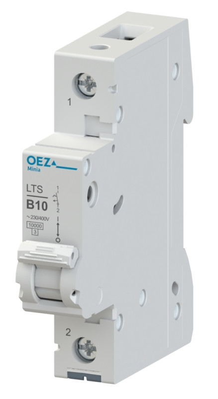 Автоматический выключатель LTS-0,5C-1 - LTS-63C-1 OEZ:41967 - OEZ:41982