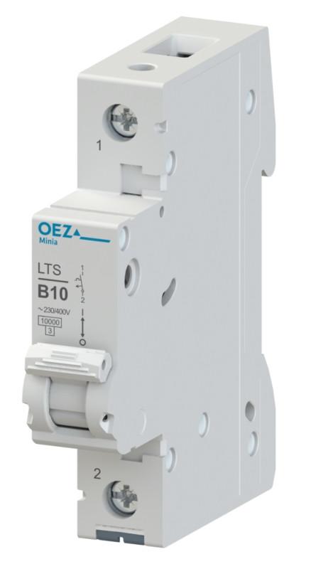 Автоматический выключатель LTS-0,5D-1 - LTS-63D-1 OEZ:41984 - OEZ:41999