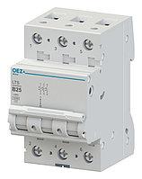Автоматический выключатель LTS-0,5C-3 - LTS-63C-3 OEZ:42096 - OEZ:42111