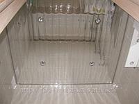 Реечный потолок A100AS суперхром люкс