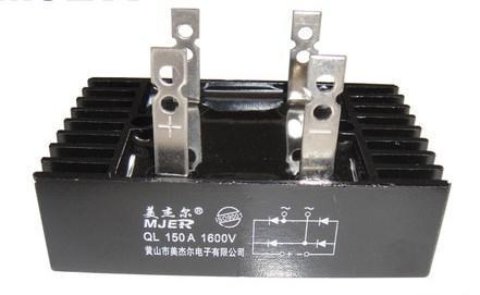 Мейер QL150A1600V QL150A-16 однофазный выпрямительный мостовой модуль QL-150A 1 год гарантии, фото 2