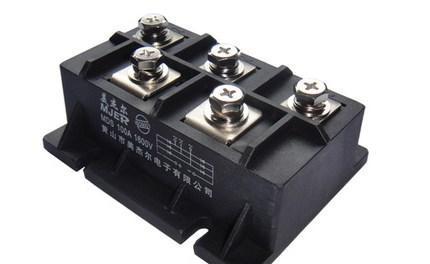 Модуль трехфазного мостового выпрямителя Meyer MDS100A1600V Мостовой стек MDS100-16, фото 2