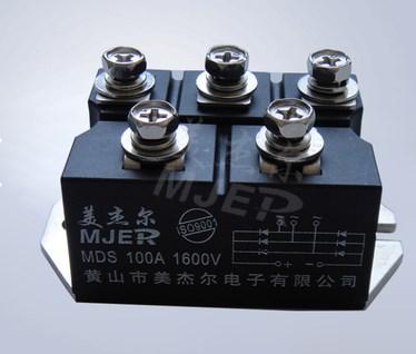 Мейер трехфазный выпрямительный мостовой МДС100А1600В 100-16 кремниевый выпрямительный мостовой реактор ВУО82