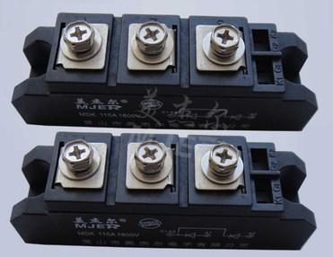Блок фотоэлектрических сумматоров обратного диода MDK110A1600V 110-16 модуль, фото 2