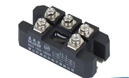 Трехфазный мост выпрямителя модуля 150а MDS150A1600V расширители выпрямитель автомобильное зарядное устройство, фото 2