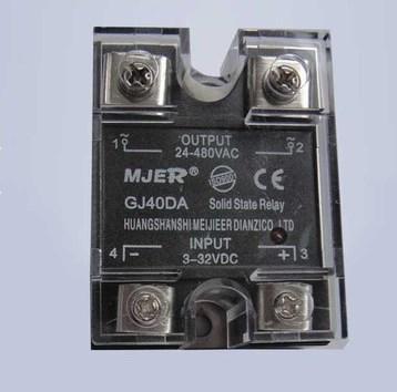 DA40A DC24V 220V DC Control AC Малое твердотельное реле GJ40DA SSR-40DA