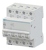 Автоматический выключатель LTS-4C-3N - LTS-63C-3N OEZ:43091 - OEZ:42152