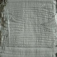 Шапочки шарлотка белые 100шт в уп