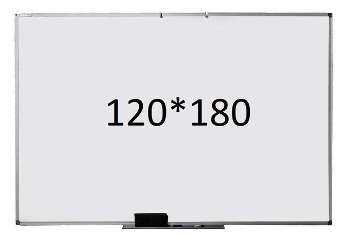 Доска магнитно маркерная 120*180. Изготовление размеров на заказ, фото 2
