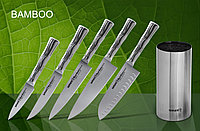 Набор из 5 ножей и подставка KBA-100 Samura BAMBOO