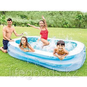 """Надувной бассейн """"Семейный"""" 262х175х56см, Intex 56483, фото 2"""