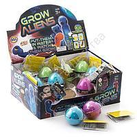 Игрушка яйцо с инопланетянином, растущим в воде, малое
