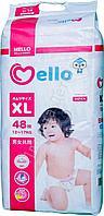 ПОДГУЗНИКИ Mello XL 12-17 кг. 48шт.