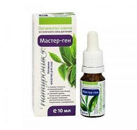 Натуроник® Мастер-ген, органелло-капли из млечного сока растений (нативное средство для глаз), 10 мл.