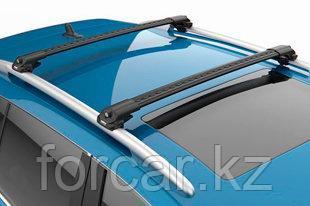 Багажные поперечины для стандартных рейлингов Turtle Black AIR1 черные 106 см, фото 2
