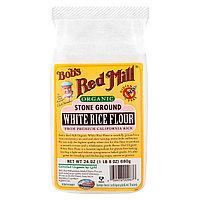 Органическая мука из белого риса