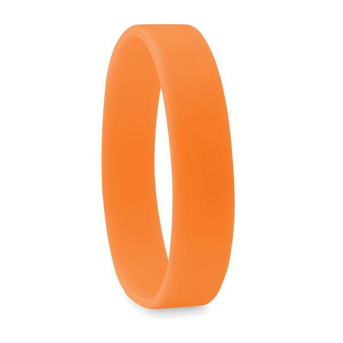 Силиконовый браслет   Оранжевый