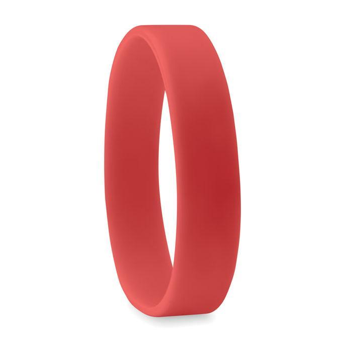 Силиконовый браслет | Красный