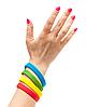 Силиконовый браслет | Розовый, фото 3