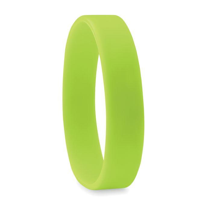 Силиконовый браслет | Зеленый