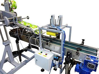 Модуль нанесения этикетки на кассеты для яиц