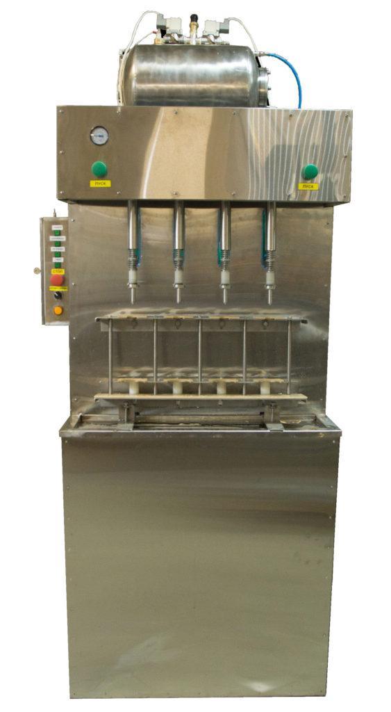 Полуавтомат розлива ПАККА-ЛД-4ГД (-8ГД) изобарический