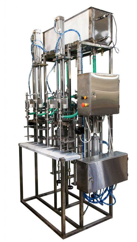 Полуавтомат розлива ПАККА-ЛД-2ОД (ЛД-4ОД) поршневое дозирование