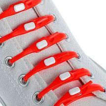 Шнурки силиконовые M-tie {6+6} (Фиолетовый), фото 3