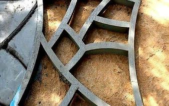 Форма-опалубка для заливки садовой дорожки «Каменная тропинка», фото 3
