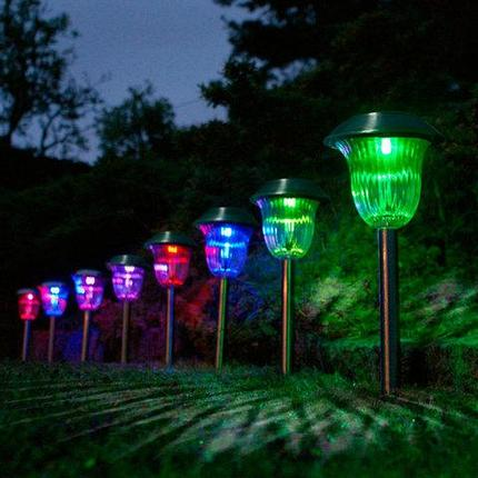 Светильник садовый LED Solar OUTDOOR c функцией смены цвета, фото 2