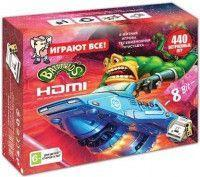 Dendy Денди BattleToads + 440 игр + HDMI  . Игровая приставка .