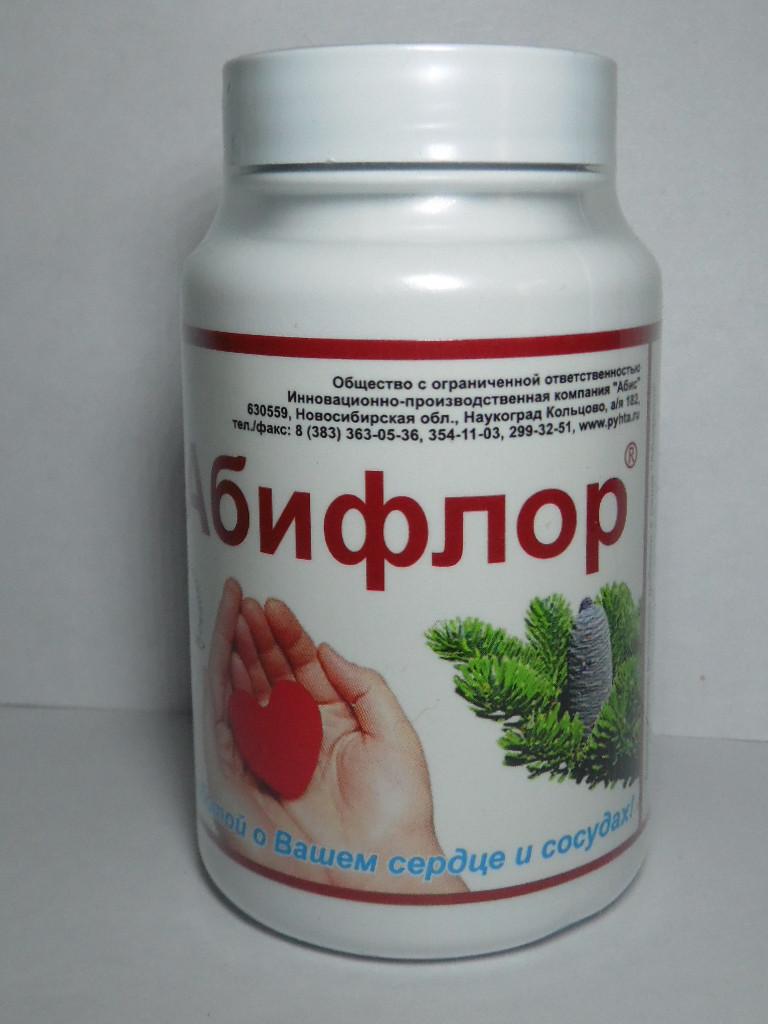 Абифлор биокорректор для укрепления сосудов, капсулы №60