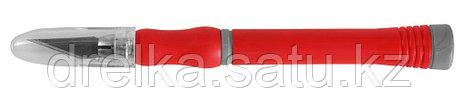 """Набор ЗУБР Нож """"МАСТЕР"""" для художеств. и дизайнер. работ, с перовым лезвием, 2-хкомп. корпус,сталь У8А, фото 2"""