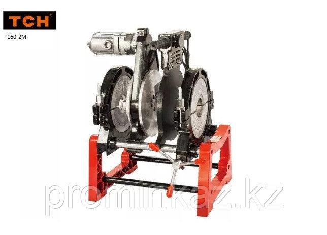 Утюг для пластиковых труб 63-160мм, (механический) 2 -зажима