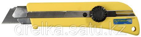 """Нож STAYER """"PROFI"""" с выдвижным сегментированным лезвием, 25мм , фото 2"""
