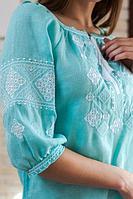 Женские льняные вышиванки рука...